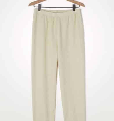 American Vintage Pantalon Ecru