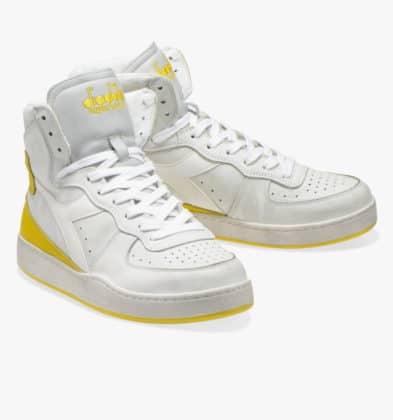 Diadora Basket haute jaune
