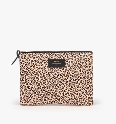WOUF Pink Savannah XL Pouch Bag