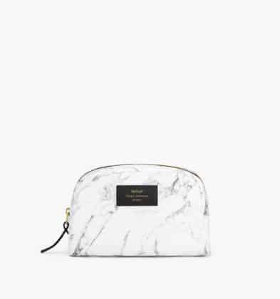 WOUF White Marble Make up Bag